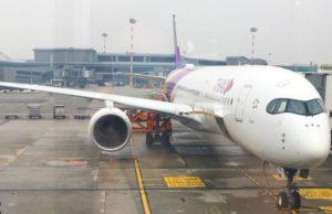 In viaggio con la compagnia thai Airways