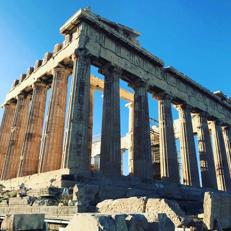 Da bambina sognavo di organizzare un viaggio ad Atene, la città dal fascino eterno.