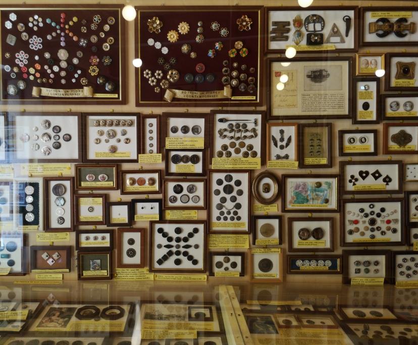 Il Museo del bottone è unico al mondo