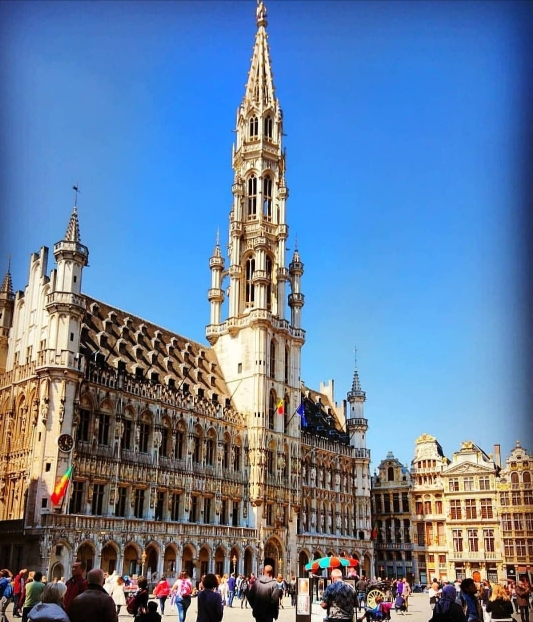 La bellezza della capitale Belga