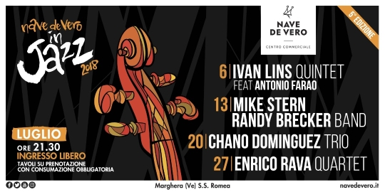 Venezia si accenderà di musica Jazz per tutto il mese di luglio