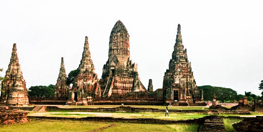 tutti i modi per raggiungere Ayutthaya