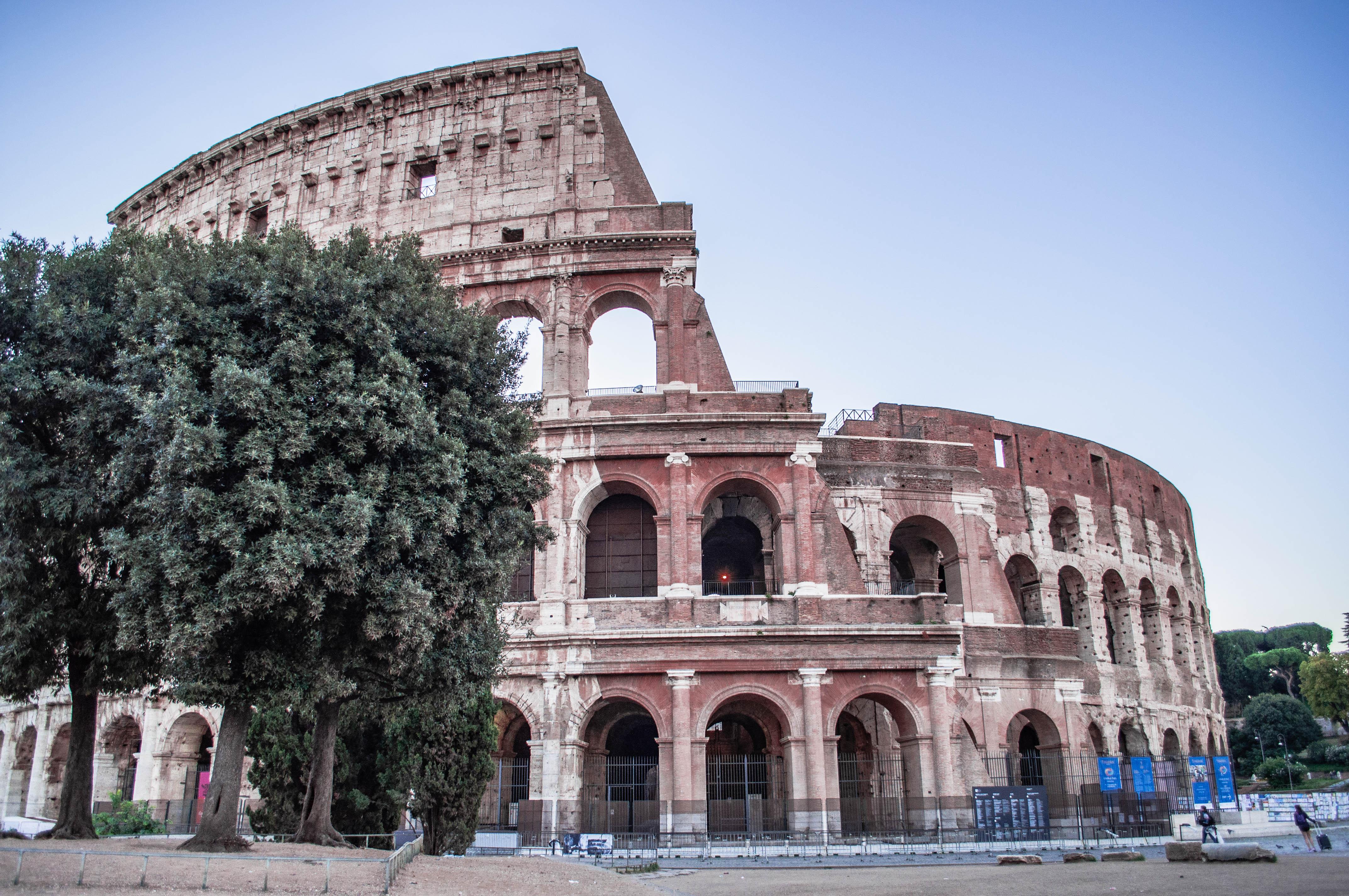 sette meraviglie del mondo moderno; uno è il Colosseo