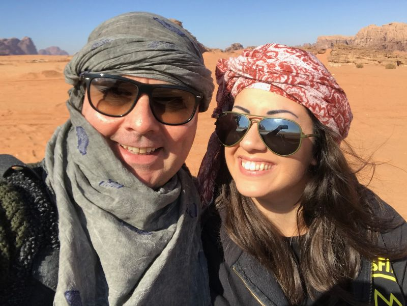 Viaggiare con un marito che ha 20 anni di più