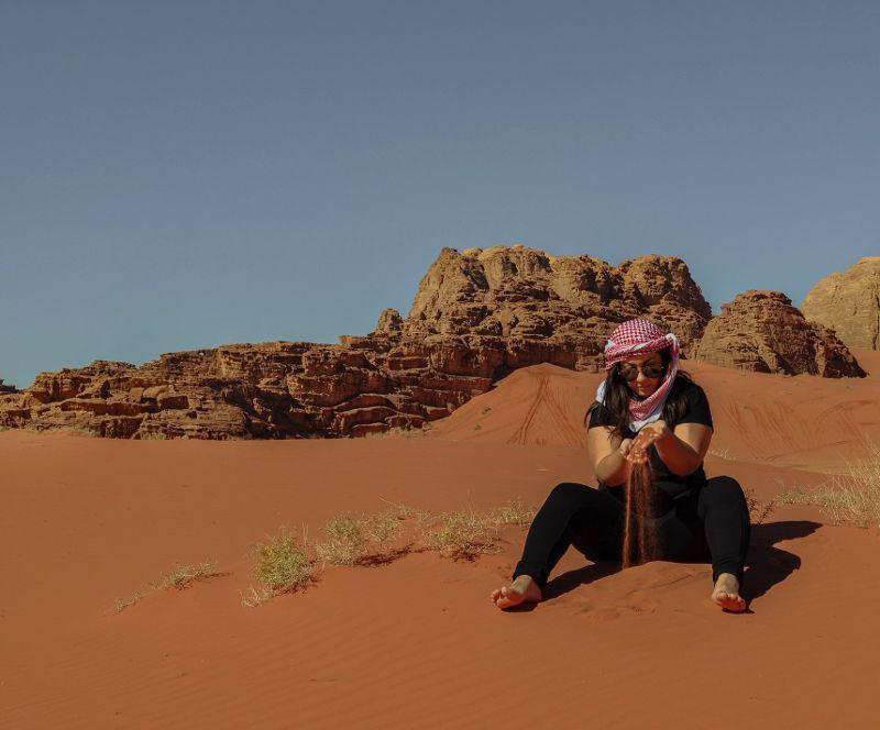 Come attrezzarsi per dormire nel Wadi Rum