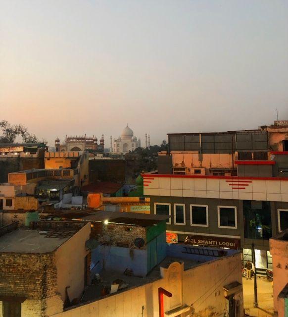 Vedere il Taj Mahal